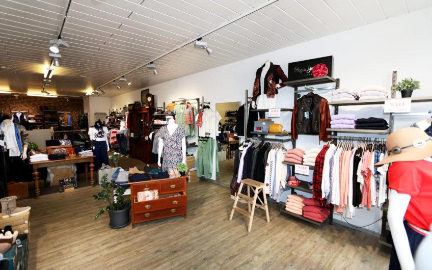 Laden Shop im Zentrum von Saas-Fee