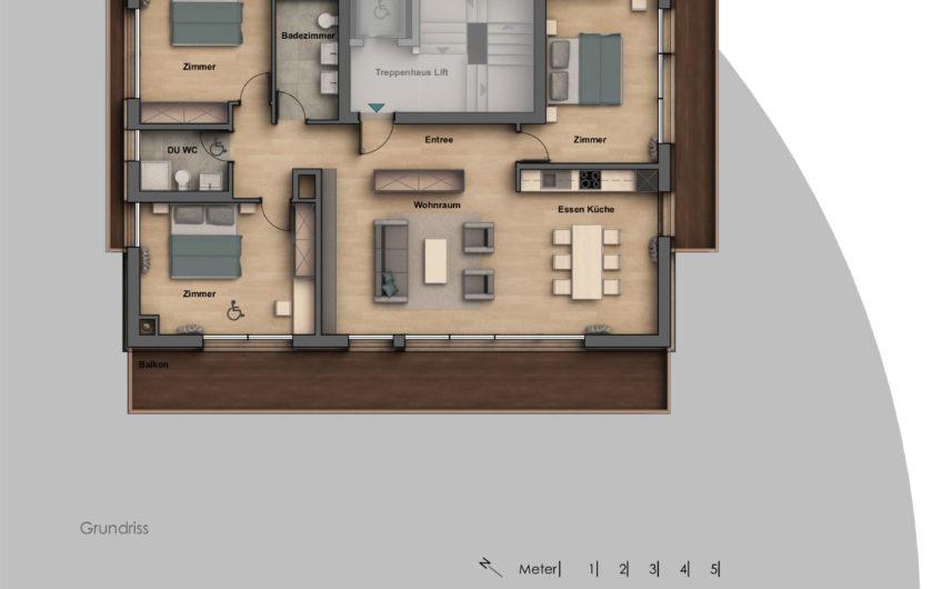 Neue attraktive 4.5 Zimmerwohnung an zentraler Traumlage