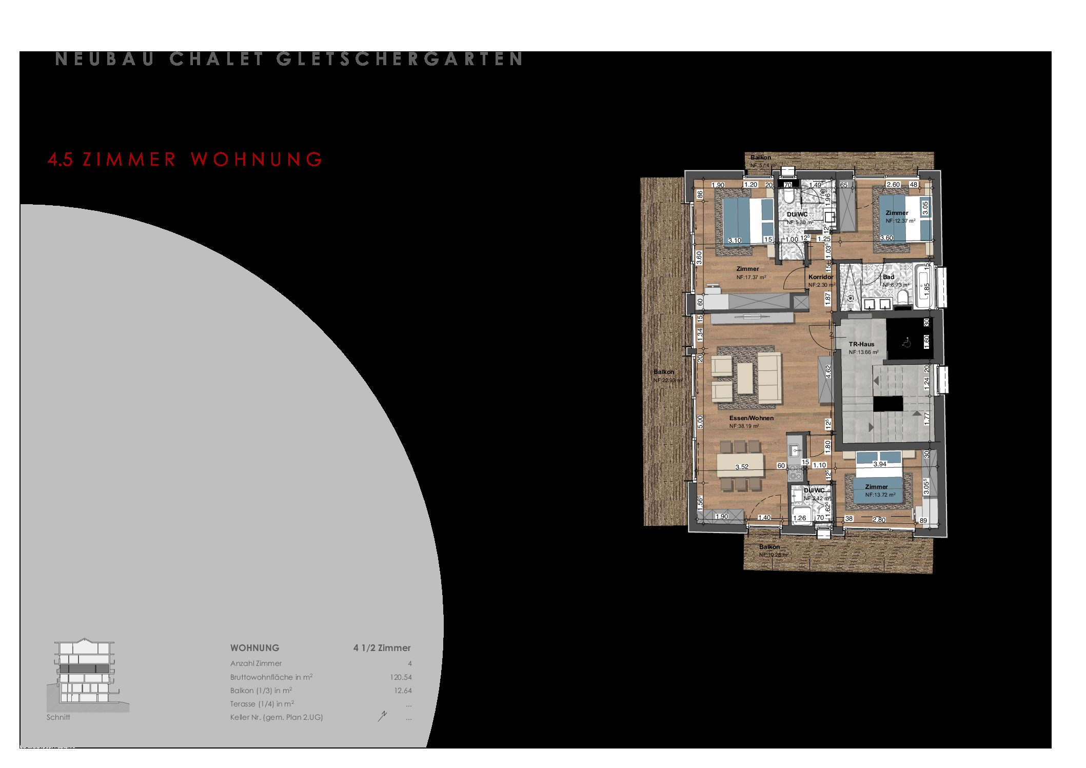 Brand new apartment in central dream location