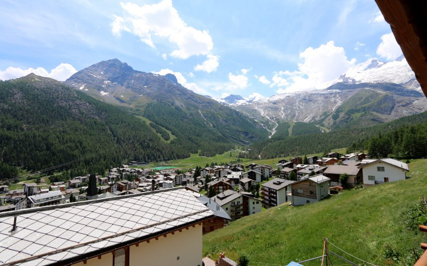Fly away over Saas-Fee