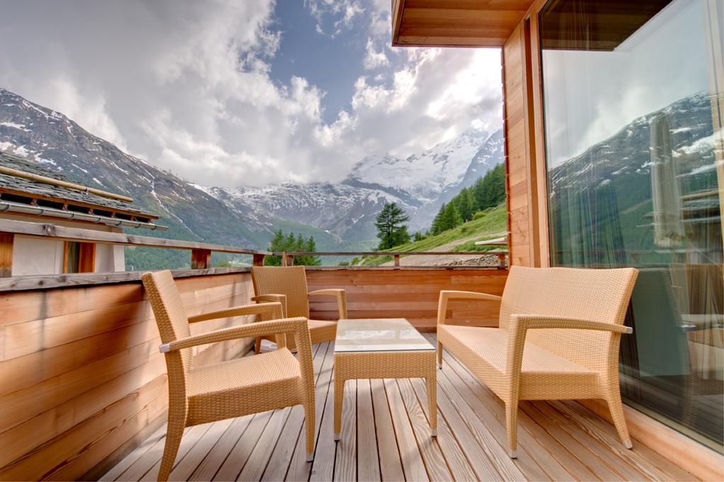 Stunning contemporary Swiss Chalet, Saas Fee, Switzerland