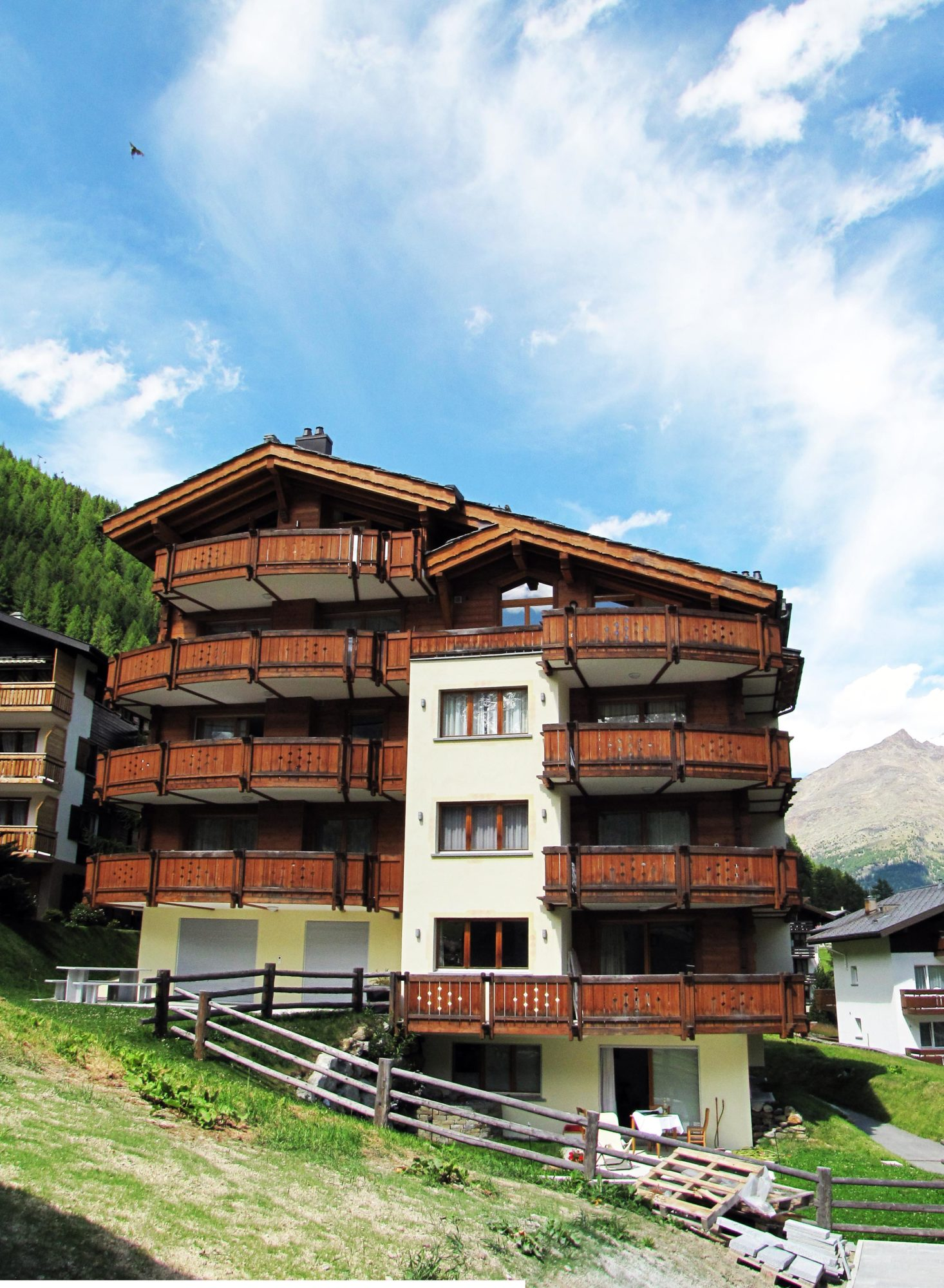 4.5 rooms at the foot of the pistes, ski-in, ski-out