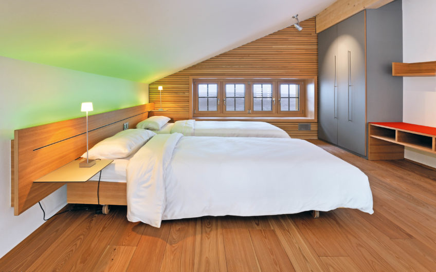 Chalet Hohnegg extraordinary place above Saas-Fee