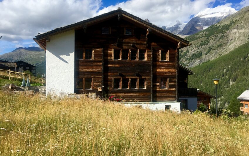 Live in the oldest house in Saas-Fee, built in 1767!