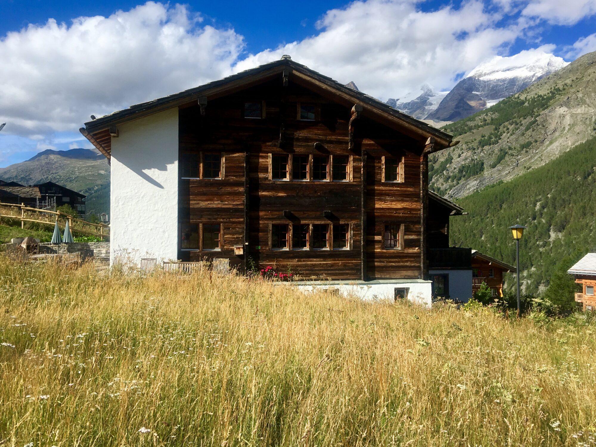 Wohnen im ältesten Haus von Saas-Fee 1767!